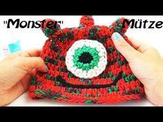 Häkeln Mütze Monstermütze - Hatnut fresh