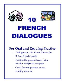 Give your students excellent practice with authentic dialogues before you set them free on their own conversations.