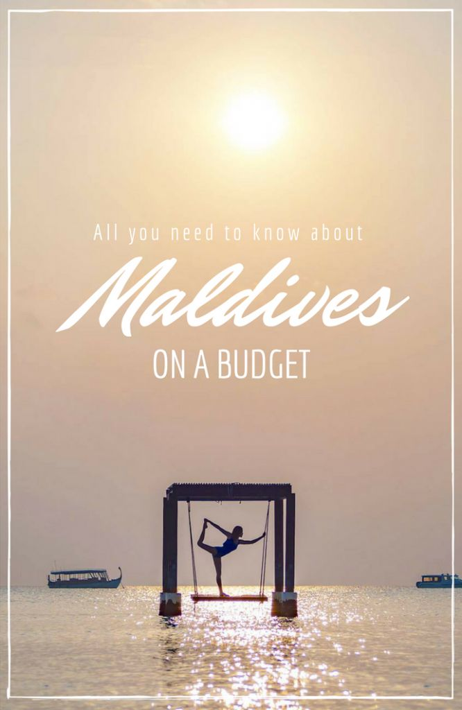 How to travel Maldives on a budget - head to Maafushi for cheap, affordable hotels and tours! More in the post.