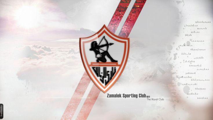 Zamalek SC Logo Wallpaper