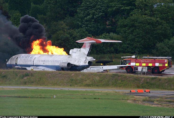 Hawker Siddeley HS-121 Trident 1C    (Англия.Манчестер. 2005г.)