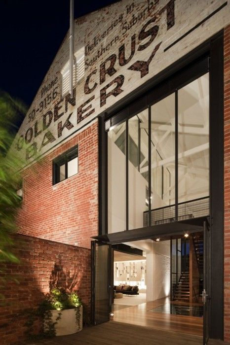 Bakery warehouse conversion in melbourne by jackson for Industrial design firms melbourne