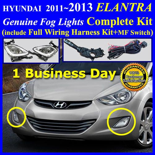 20122013 Hyundai Elantra Fog Light L Plete Kitwiring Harnessmf Switch: Fog Lights Wiring Diagram 2006 Tucson At Aslink.org