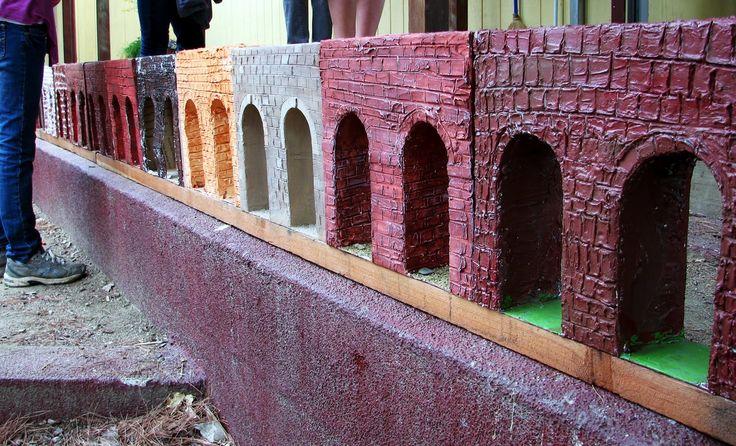 Waldorf ~ 6th grade ~ Roman History ~ Building a Roman Aqueduct ~ project