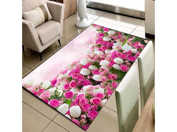 biga 3d pink garden koberec