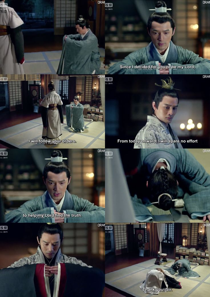If prince Jing only new who Chang Su is! Bur so touching how the prince bowed to his subject. He'll diffentely would be a good emperor! // Nirvana In Fire ep.24 7.1.16 22:42