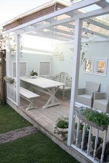 24 Homes: Creating a porch/ Een veranda maken