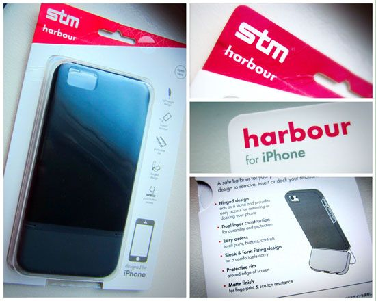 NEW case by STM for iPhone 6...