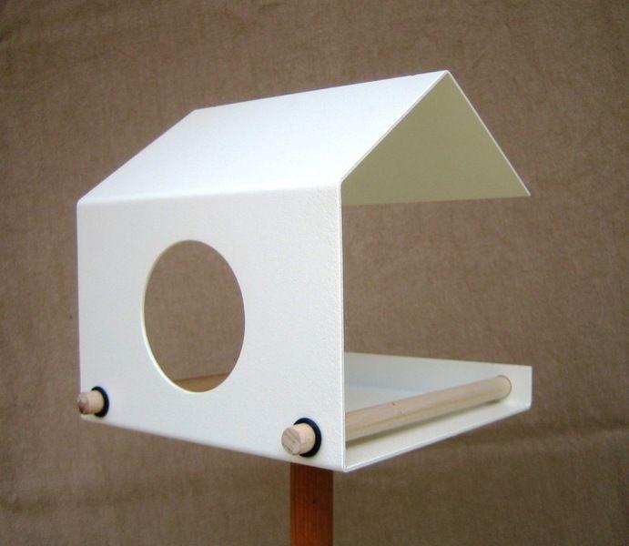 Vogelhaus -flyby- weiß von art4life