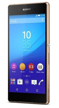 Sony Xperia Z3+ (Plus) Copper Gold released on iD Mobile contract deals 06/08/15