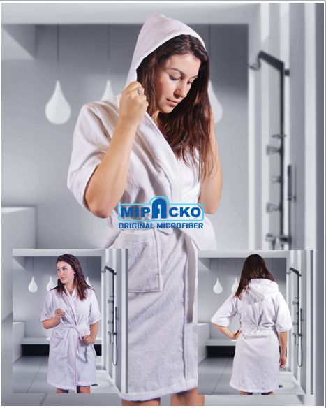 bathrobes hoodie microfiber Available at..