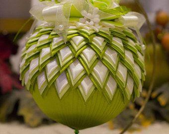 Christmas balls decorations handmade Christmas tree ornament