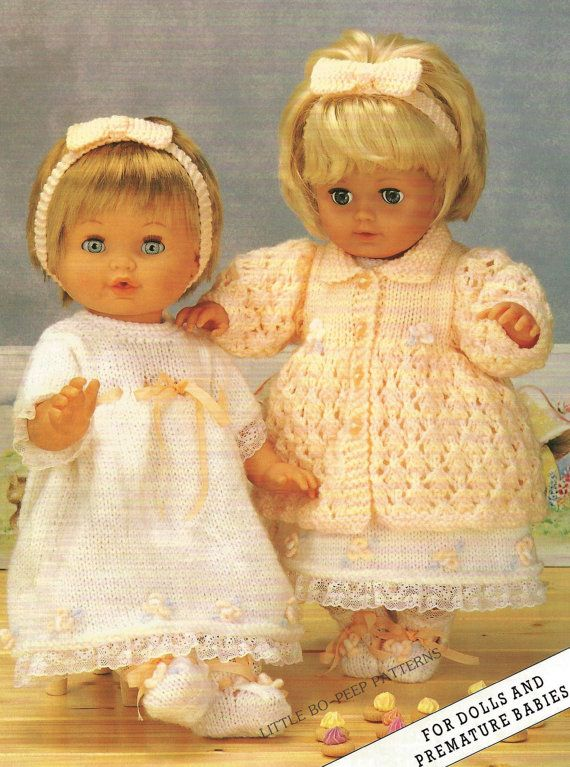 Vintage Dolls Knitting Patterns : 151 best images about doll patterns on Pinterest