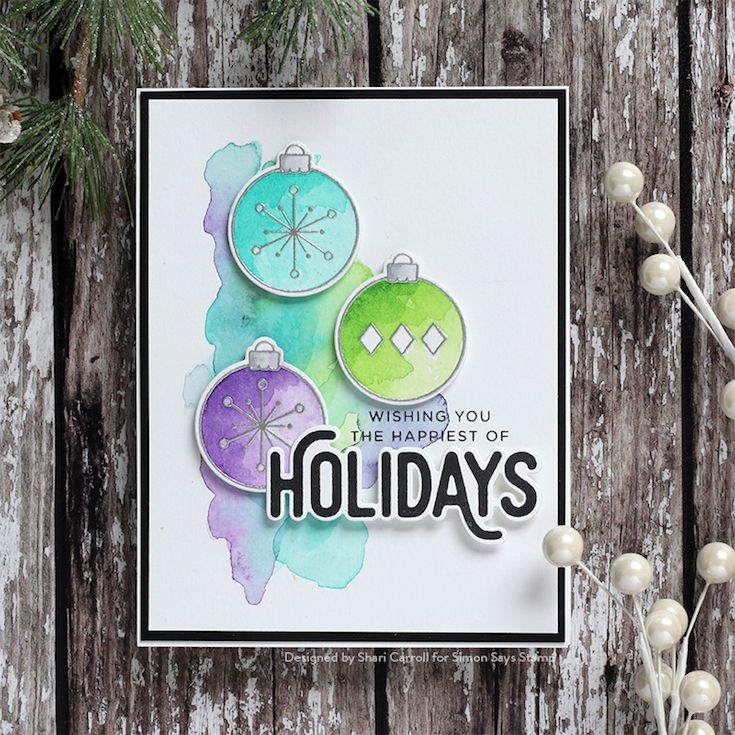 Cz Design Wafer Dies Ornamental Czd42 Fun And Festive In 2021 Christmas Card Ornaments Simon Says Stamp Simon Says Stamp Blog
