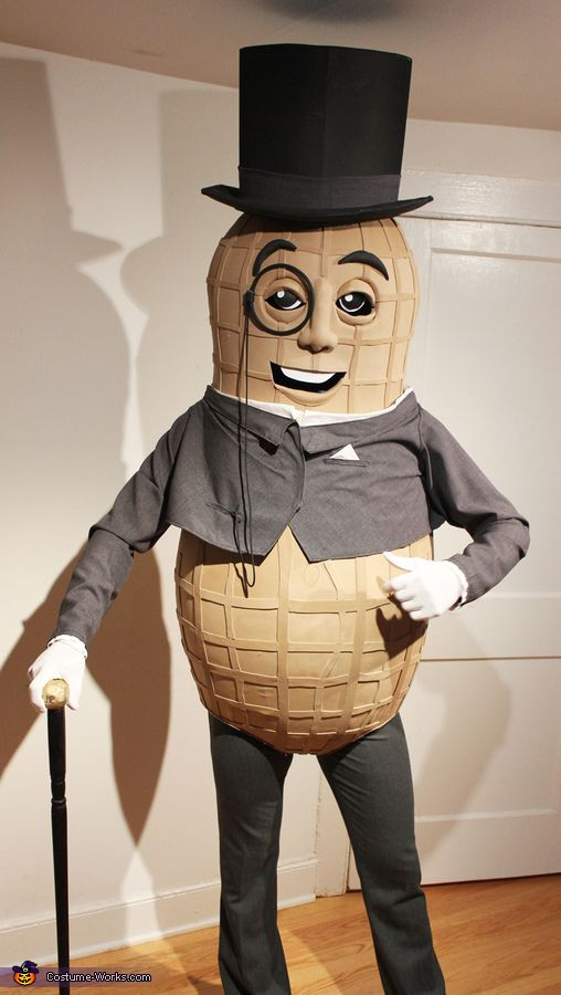 The NEW Mr. Peanut - Homemade costumes for adults