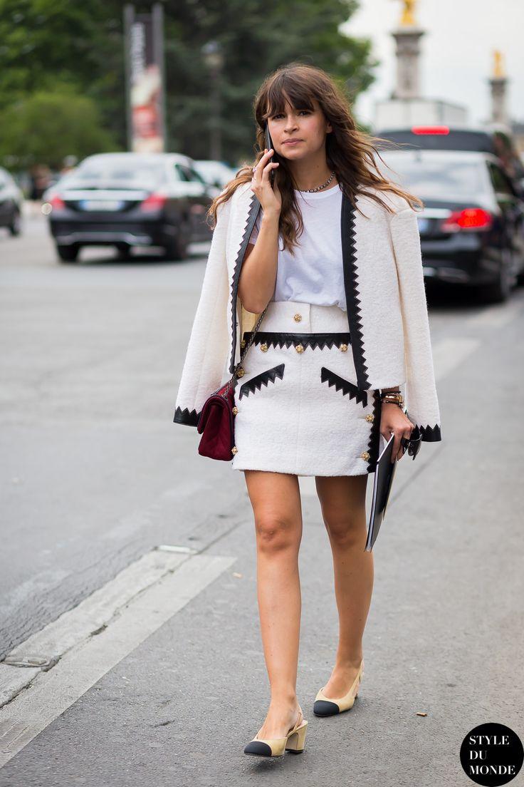 Haute Couture Fall 2015 Street Style: Miroslava Duma