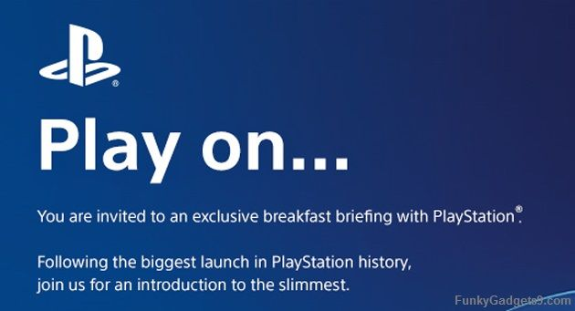 Sony will reveal its Slimmest PlayStation ever on January 30th
