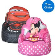 Minnie Mouse Bean Bag Chair Comes With Free Product Gift Purchase