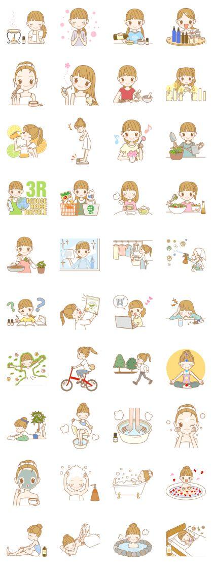 AROMATO -Aromatherapy - LINE Creators' Stickers