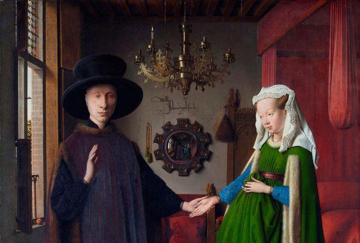 """Портрет четы Арнольфини"""" Ян ван Эйк (ок.1390-1441)"""