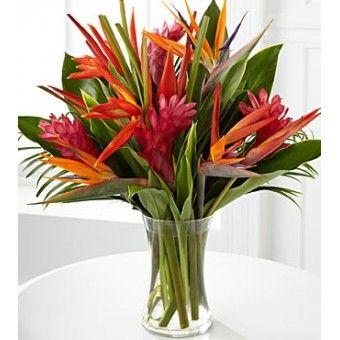 Premium Tropical Flowers Arrangement