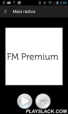 FM Premium  Android App - playslack.com ,  Aplicativo da Rádio FM Premium da Rede Pampa de Comunicação.Com este aplicativo você poderá ouvir a rádio FM Premium onde você estiver. Basta acessar o aplicativo e curtir a programação da rádio.Funções disponíveis:* Acesso a rádio FM Premium* Controle de volume dentro do appAinda é possível acessar todas as plataformas de comunicação da Rede Pampa de Comunicação Application of Radio FM Premium Communication Pampa Network.With this app you can…