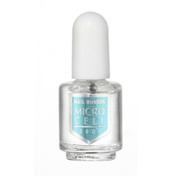 Ειδικό βερνίκι νυχιών με πολλαπλή δράση Microcell Nail Wonder.