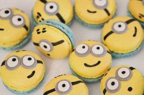 Recette : Les Macarons Minions ! Merci à nos artisans pâtissiers de penser à nos petits et grands enfants grâce à ces gourmandises. L'Atelier