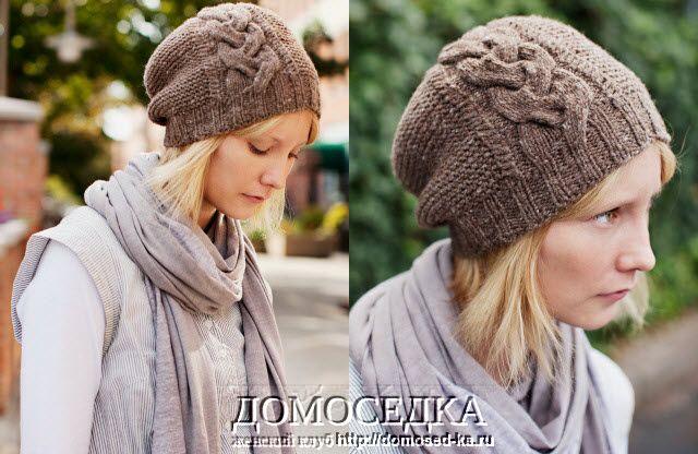 Nautilus Beret Knitting Pattern : ??????? ???_???????? : LiveInternet - ?????????? ?????? ??????-????????? ha...