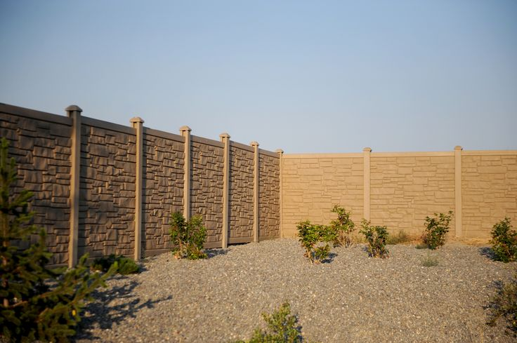 17 Best Images About Ecostone Rock Fencing On Pinterest