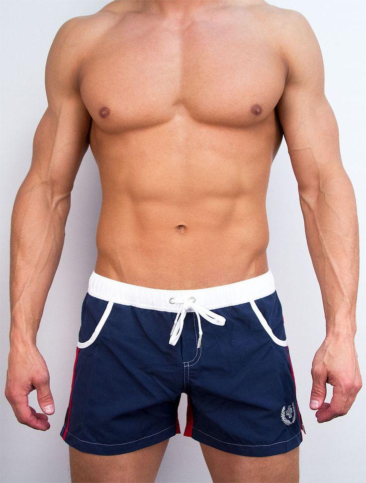 Edwards 1212 Mens Short Sleeve Navigator Pilot Uniform Shirts - Blue and White