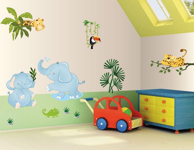http://www.alittlemarket.it/decorazioni-per-camerette-bambini/it_adesivi_murali_bambini_decorazioni_camerette_kit_il_safari_-13507133.html