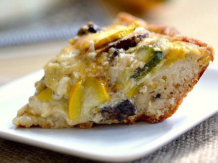 Zesty summer squash pie recipe