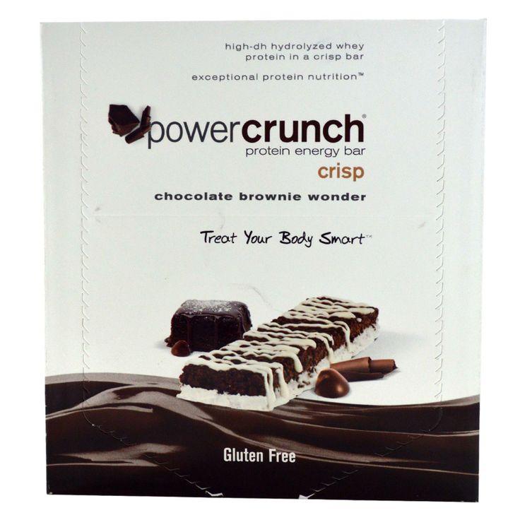 BNRG, Power Crunch, Protein Energy Crisp Bar, Chocolate Brownie Wonder, 12 Bars, 1.5 oz (41 g) Each - iHerb.com
