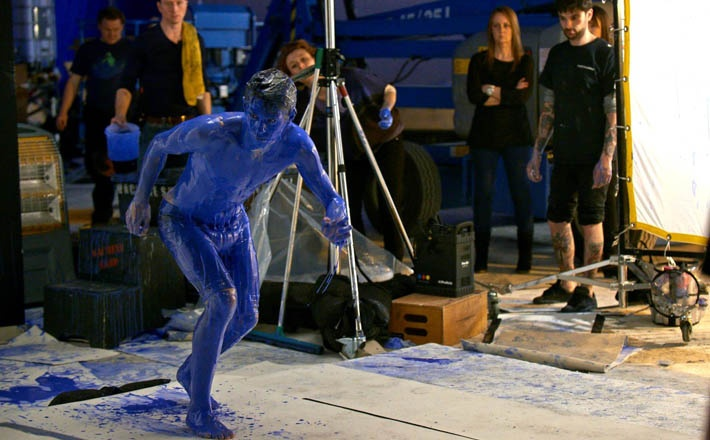 Oscar . It's blue, what else matters? Behind the scenes -- 2013/14 adidas Chelsea FC kit launch