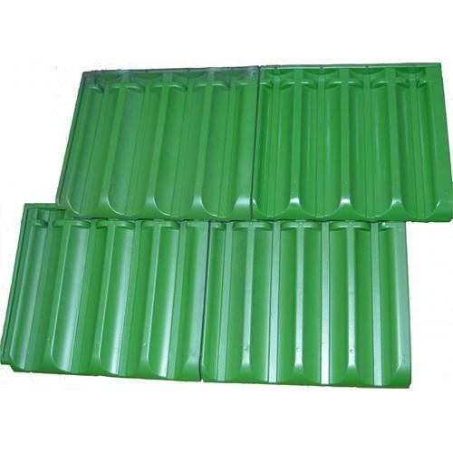 Green Plastic Roof Tile