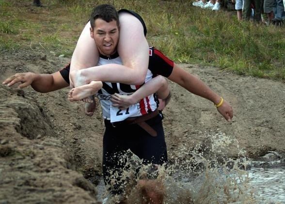 Run for your life while carrying your wife in Finland. The aim for the man - to race to the finish ASAP. The aim for the woman - to berate him and complain about every tiny mistake he makes. When: July 5-6. Where: Sonkajarvi, Finland. #beforeyoureboring #bucketlist #dieselbucketlist