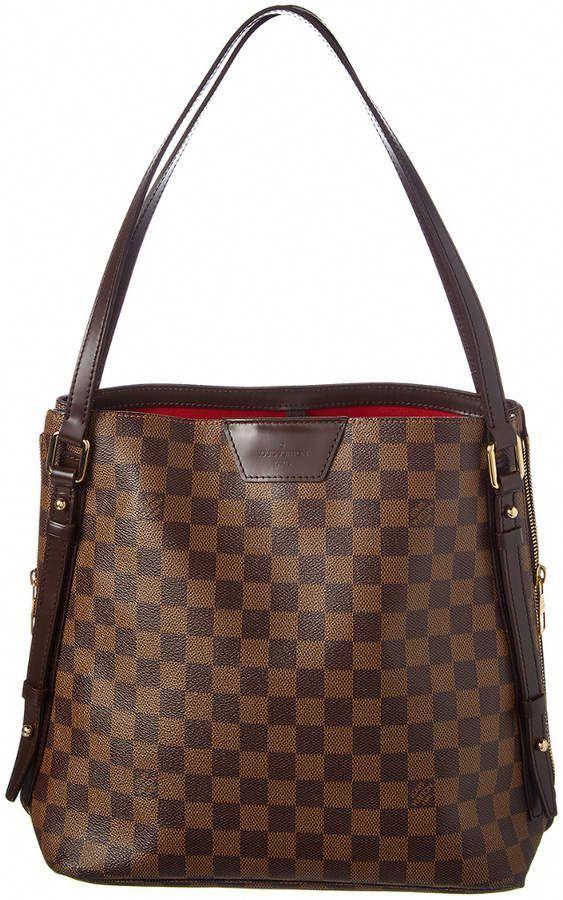 238b140b7dabdc Louis Vuitton Damier Ebene Canvas Cabas Rivington #Louisvuittonhandbags | Louis  vuitton handbags | Louis vuitton, Authentic louis vuitton bags, ...