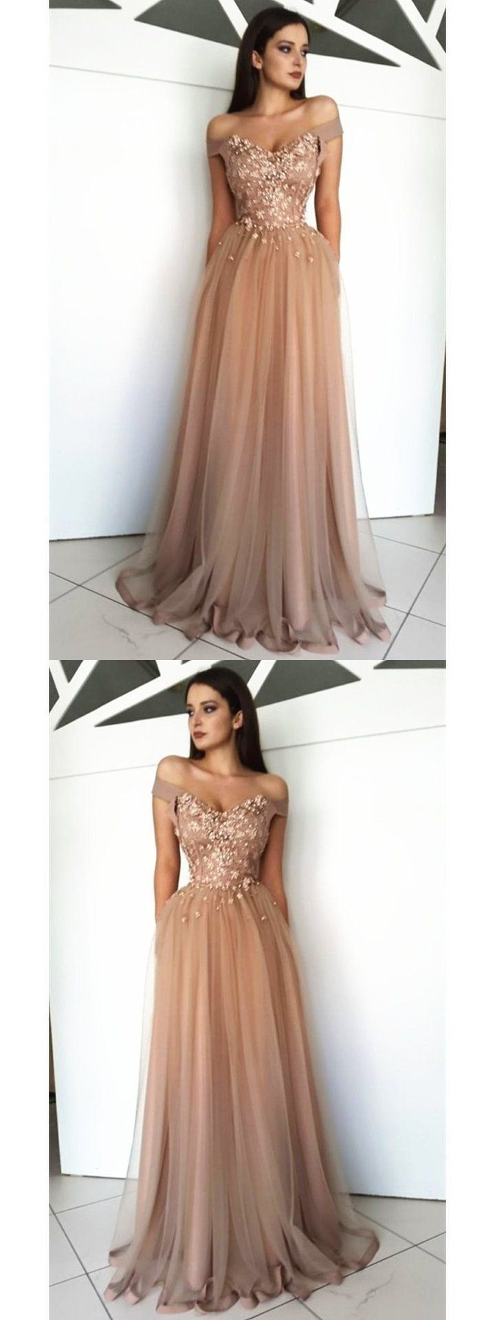 Incredibly Off Shoulder Long Beautiful Gorgeous High Quality Modest Hot Sale Prom Dresses O…