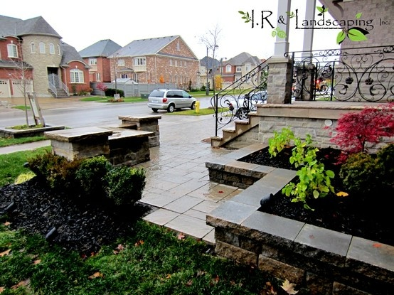 10 best landscaping using bricks images on pinterest for Garden design ideas toronto