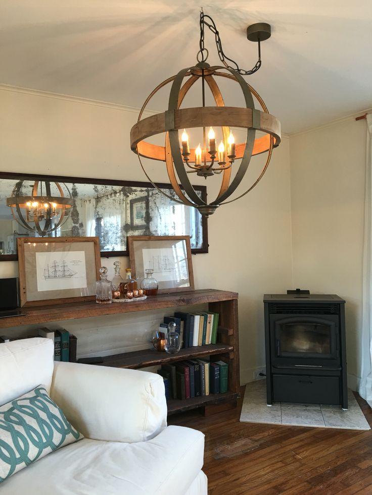 25 best ideas about orb chandelier on pinterest modern for Dining room globe lighting