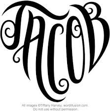 Image result for jacob name tattoo designs