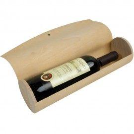 Portabottiglia cilindrico in legno di pino per 1 bottiglia .   4.83 IVA Inclusa