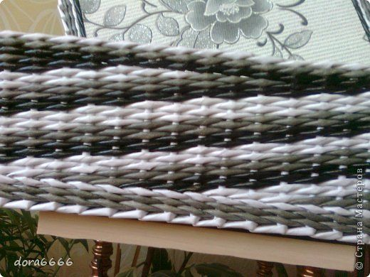 Поделка изделие Плетение Борьба с углами   Трубочки бумажные фото 21 VZOR