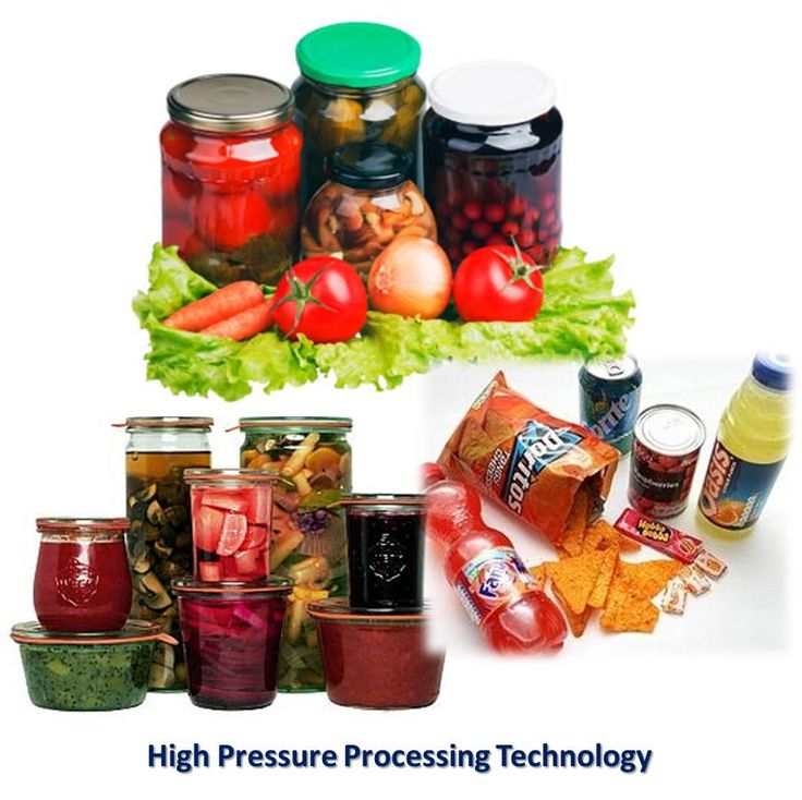 High Pressure Processing Baby Food