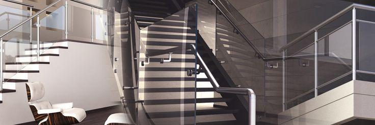 Oltre 25 fantastiche idee su scale esterne su pinterest - Ringhiere da interno moderne ...