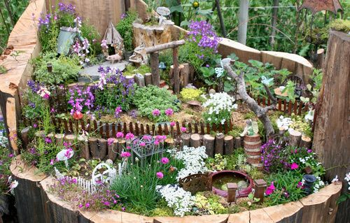 fantastic fairy village
