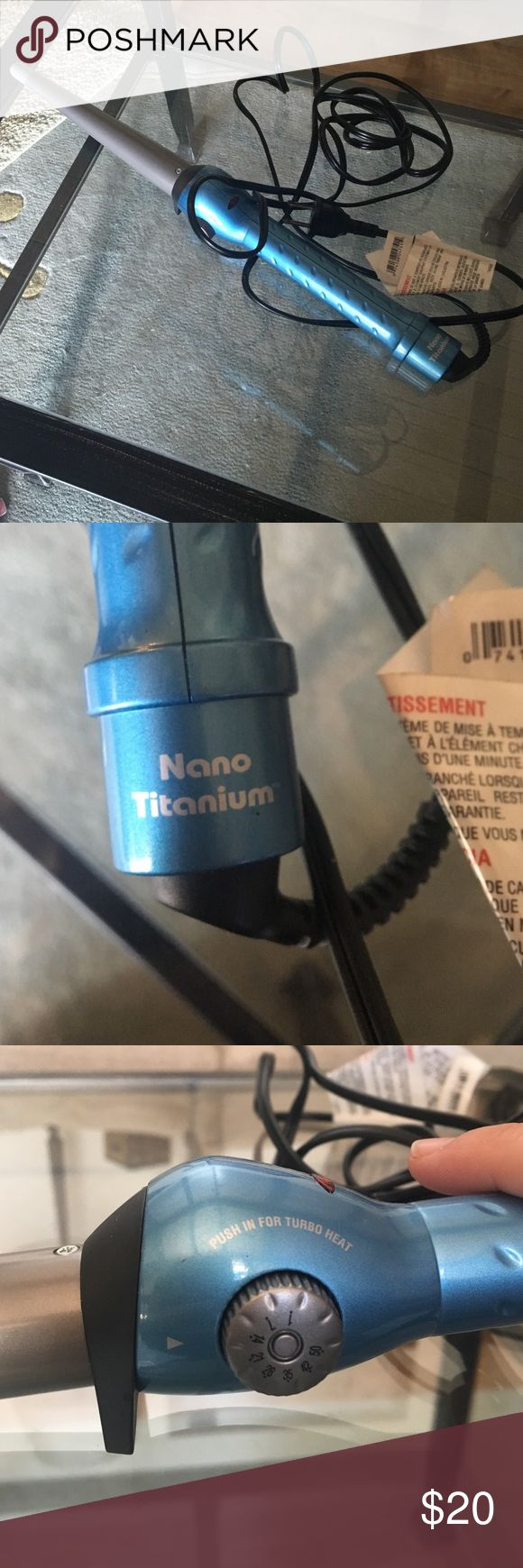 Wand curler - Nano Titanium BRAND NEW GREAT wand! Never used before! Multiple heat settings. Nano Titanium Other