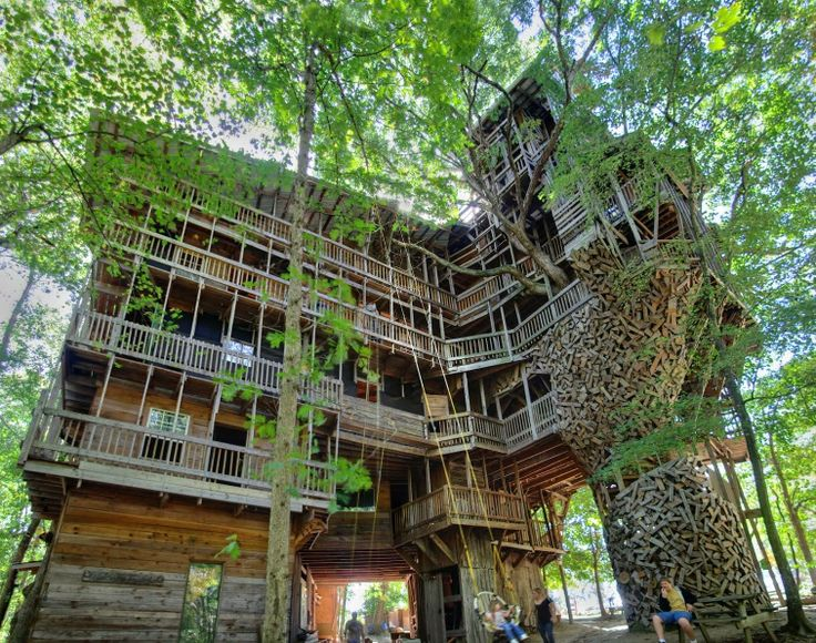 Biggest Treehouse In The World 500 best tree houses images on pinterest | treehouses, treehouse