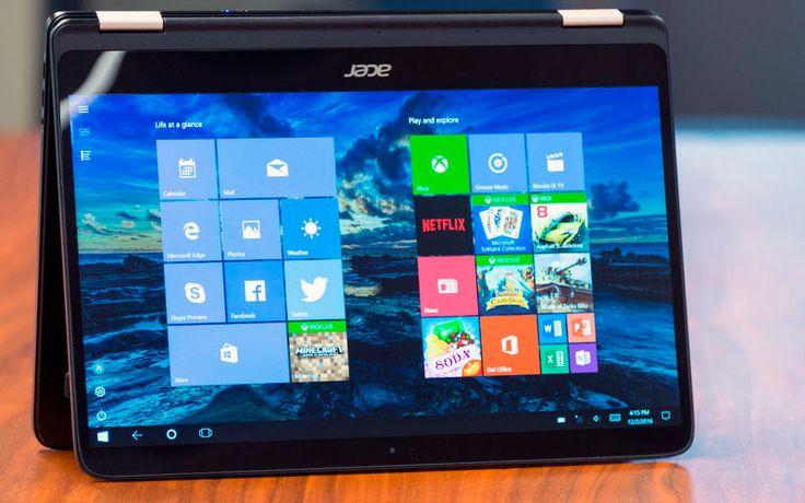 Ультрабук Acer Spin 7 отличается компактностью, но у него маломощный процессор Kaby Lake Core i7-7Y75. За модель с 8 ГБ ОЗУ и SSD на 256 ГБ,
